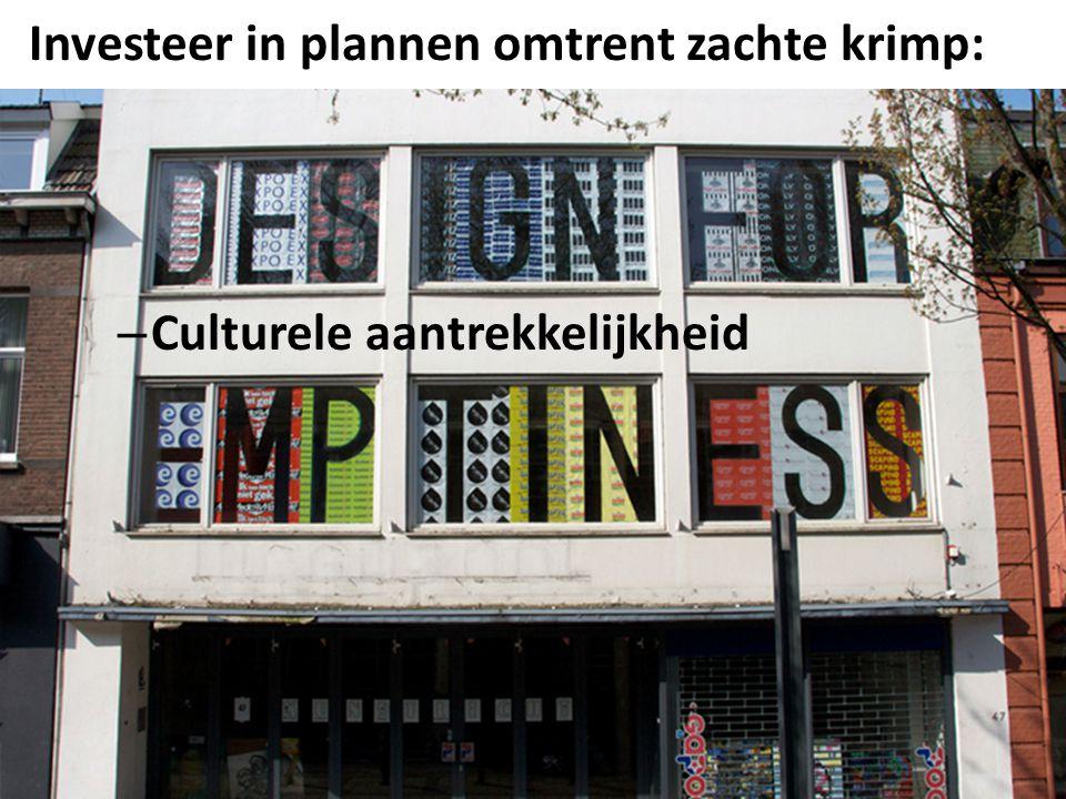 Investeer in plannen omtrent zachte krimp: NEIMED13 – Culturele aantrekkelijkheid