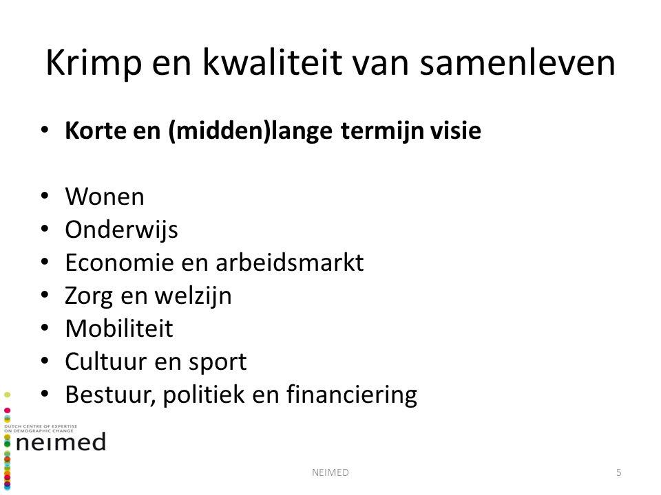 6 Krimp in Nederland