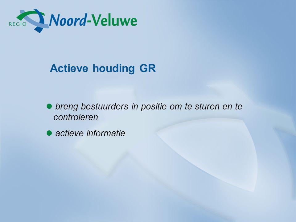 Actieve houding GR breng bestuurders in positie om te sturen en te controleren actieve informatie
