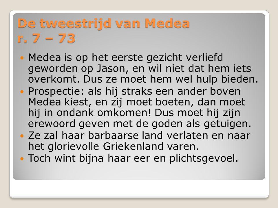 De tweestrijd van Medea r.