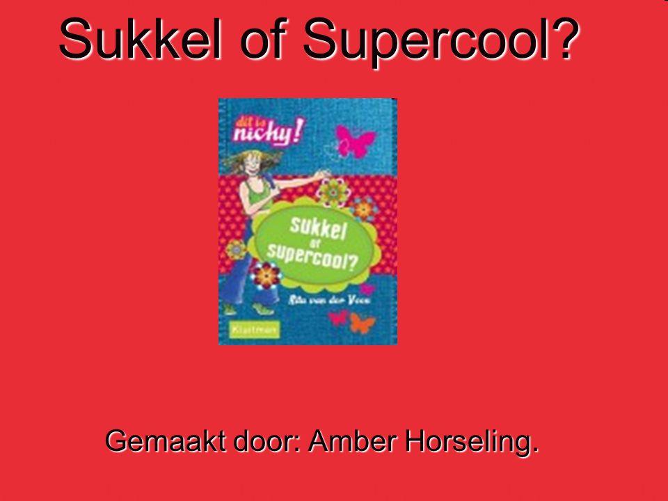 Inleiding  Heey iedereen  Heey iedereen  Dit is mijn boekbespreking over het boek: Sukkel of Supercool.