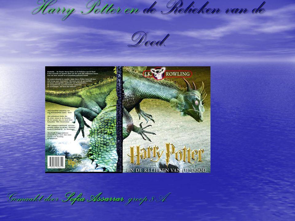 Harry Potter en de Relieken van de Dood. Gemaakt door Sofia Assarrar, groep 8A.
