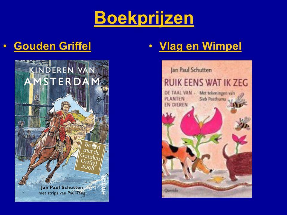 Boekprijzen Gouden GriffelVlag en Wimpel