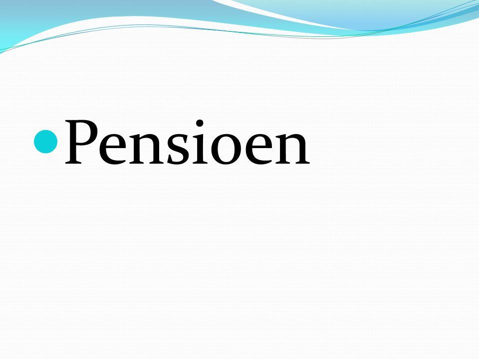 Pensioen