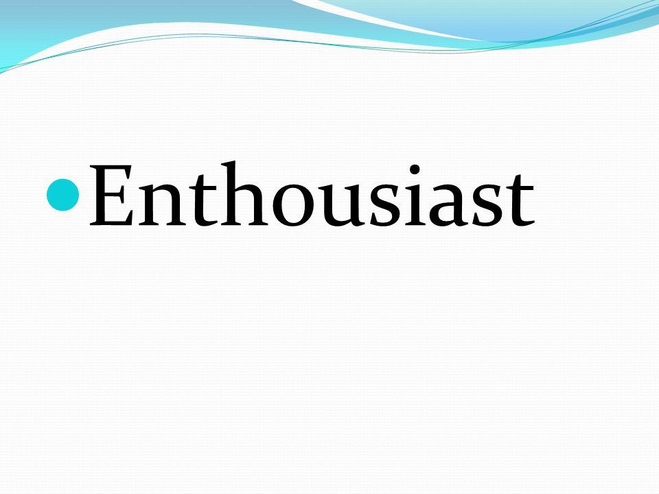 Enthousiast