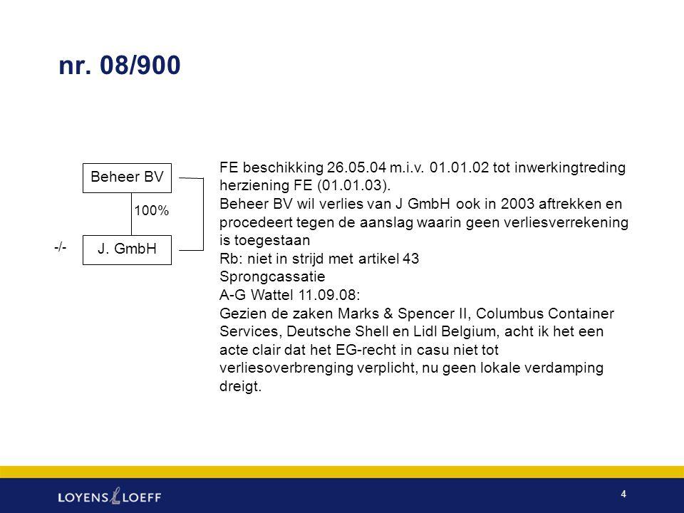 5 Wat is het wezen van de FE Rechtsvormneutraliteit tussen NL v.i.