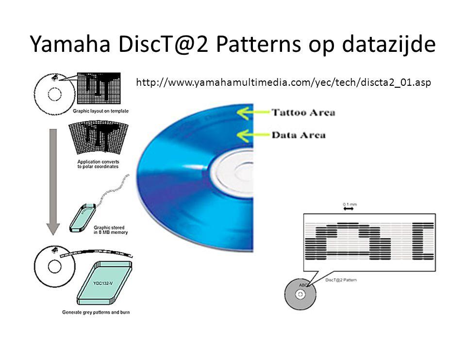 Yamaha DiscT@2 Patterns op datazijde http://www.yamahamultimedia.com/yec/tech/discta2_01.asp