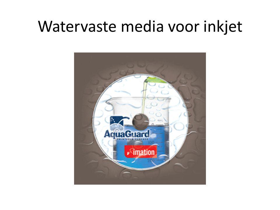 Watervaste media voor inkjet