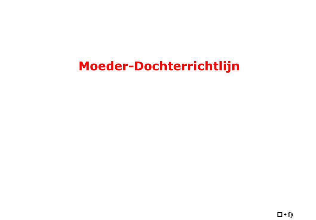 pwc Moeder-Dochterrichtlijn