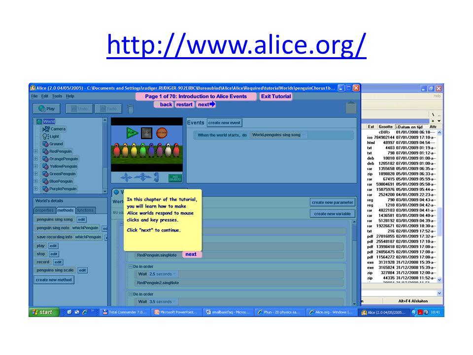 http://www.alice.org/