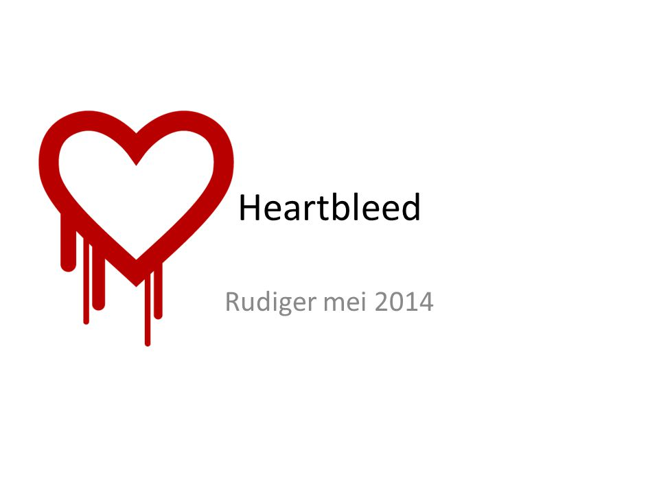 Heartbleed Rudiger mei 2014