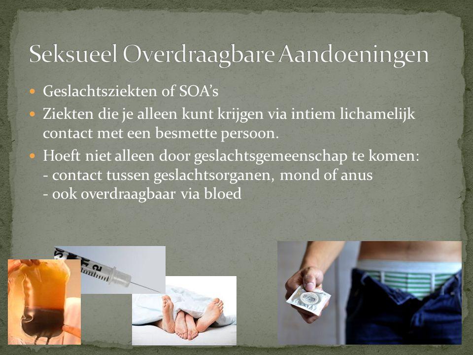 Jaarlijks in Nederland zo'n 100000 nieuwe besmettingen.