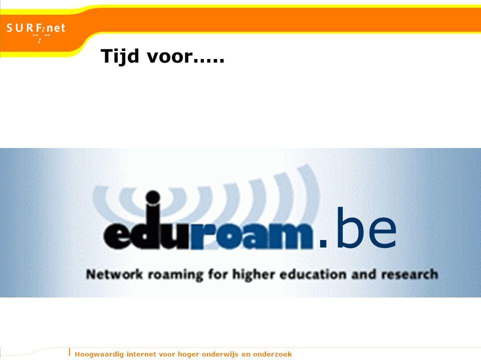 Hoogwaardig internet voor hoger onderwijs en onderzoek Tijd voor…...be