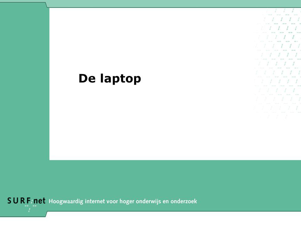De laptop