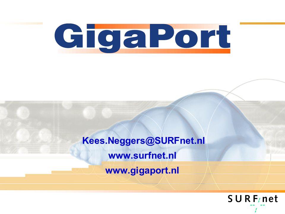 Kees.Neggers@SURFnet.nl www.surfnet.nl www.gigaport.nl