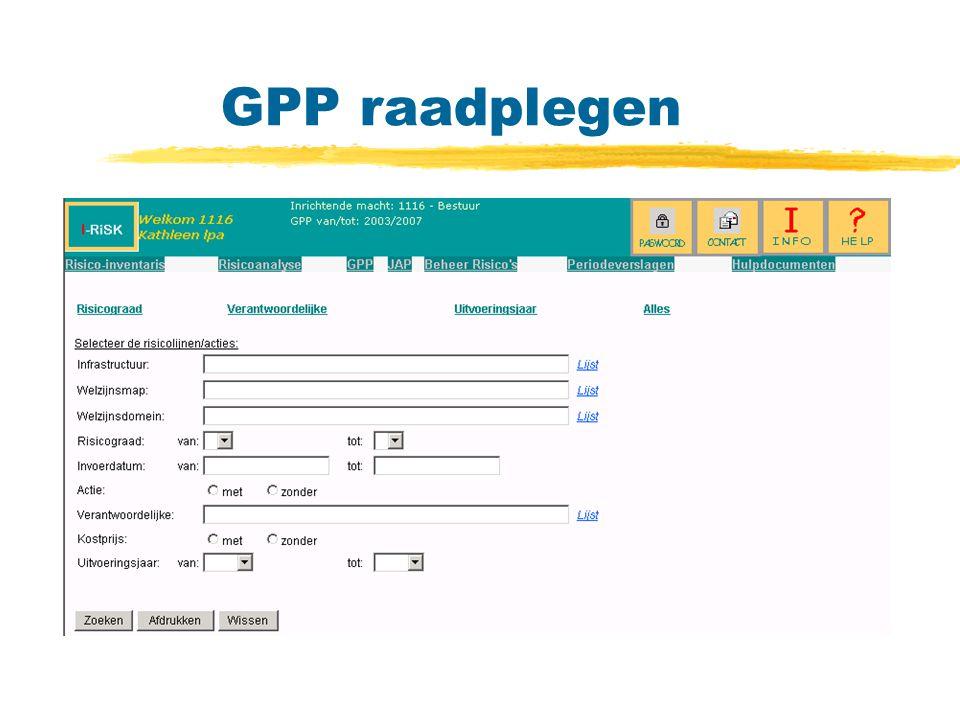 GPP raadplegen