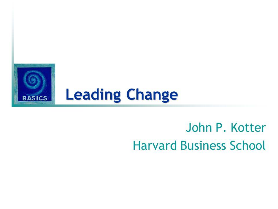 Het veranderingsproces in 8 stadia 1.Een gevoel van dringendheid & dwingendheid creëren 2.