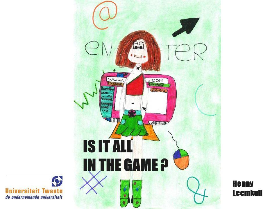 Waarom games in het onderwijs ? Actief problemen oplossen Gemotiveerd Geïnvolveerd Samenwerking