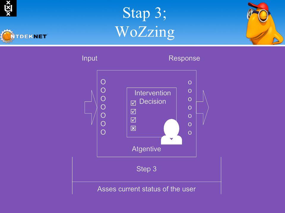 Stap 3; WoZzing