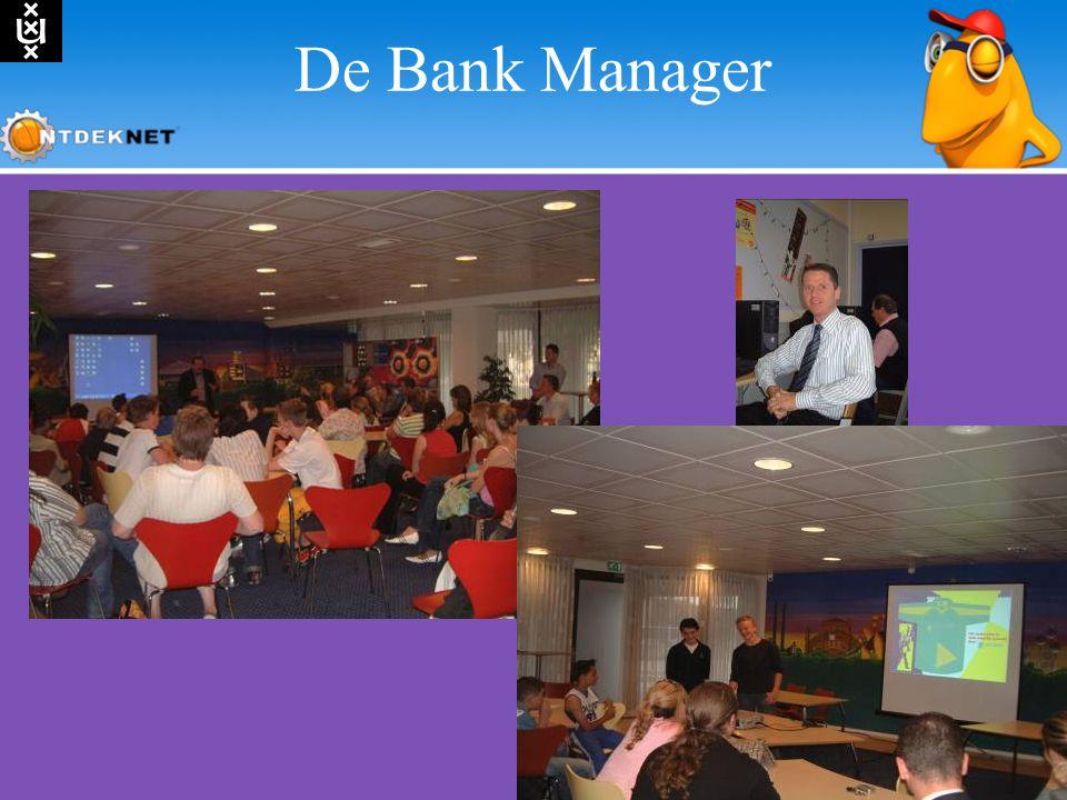 De Bank Manager Burght abn met foto's