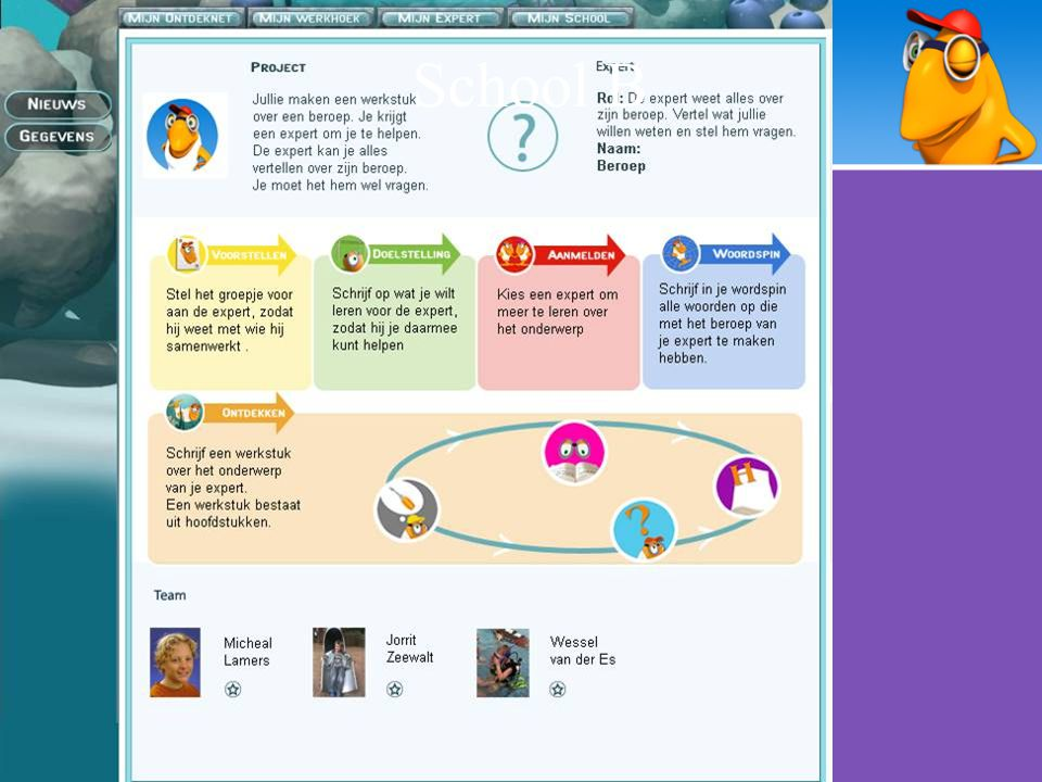 Events Model Input van de leeromgeving –Positie in de omgeving –Voortgang van de gebruiker –Gedrag van de gebruiker ASKME –User tracking: toetsenbord, muis & webcam