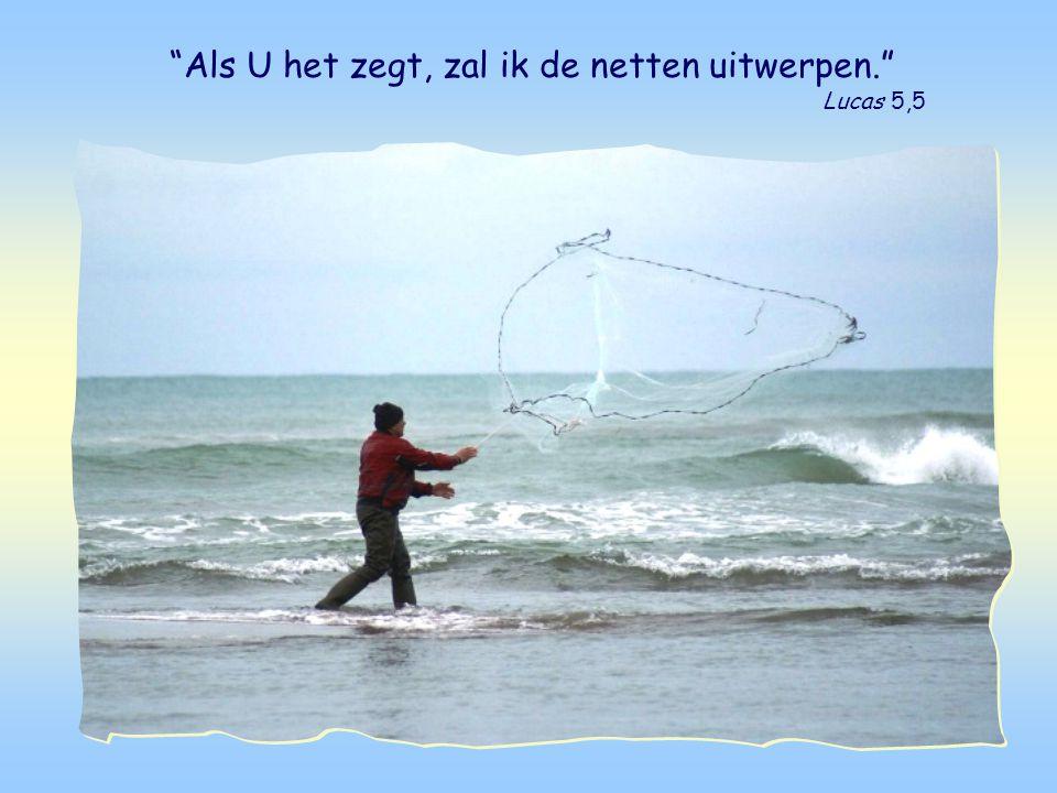 Dit is het verhaal van de wonderbare visvangst.
