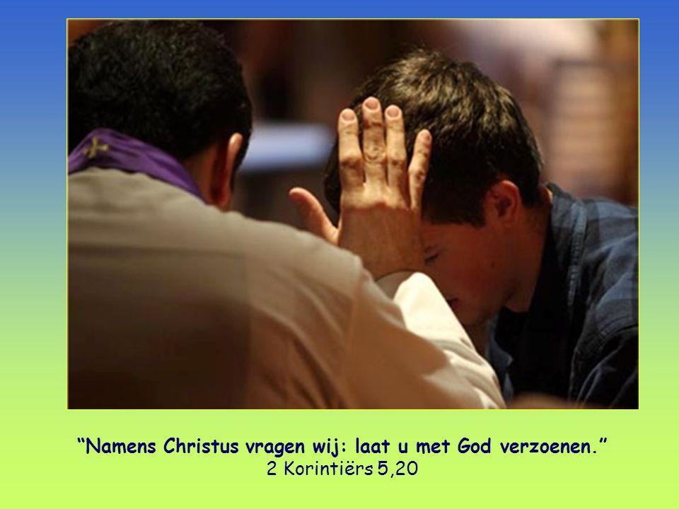 Namens Christus vragen wij: laat u met God verzoenen. 2 Korintiërs 5,20 Woord van Leven , uitgegeven door de Focolarebeweging.