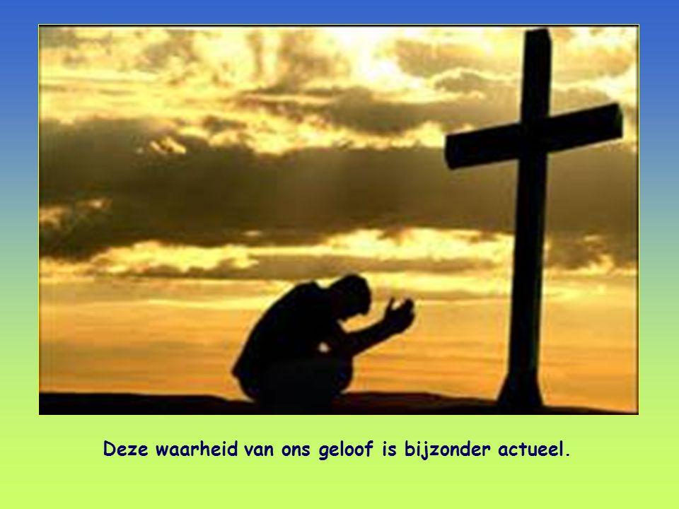 Namens Christus vragen wij: laat u met God verzoenen. 2 Korintiërs 5,20