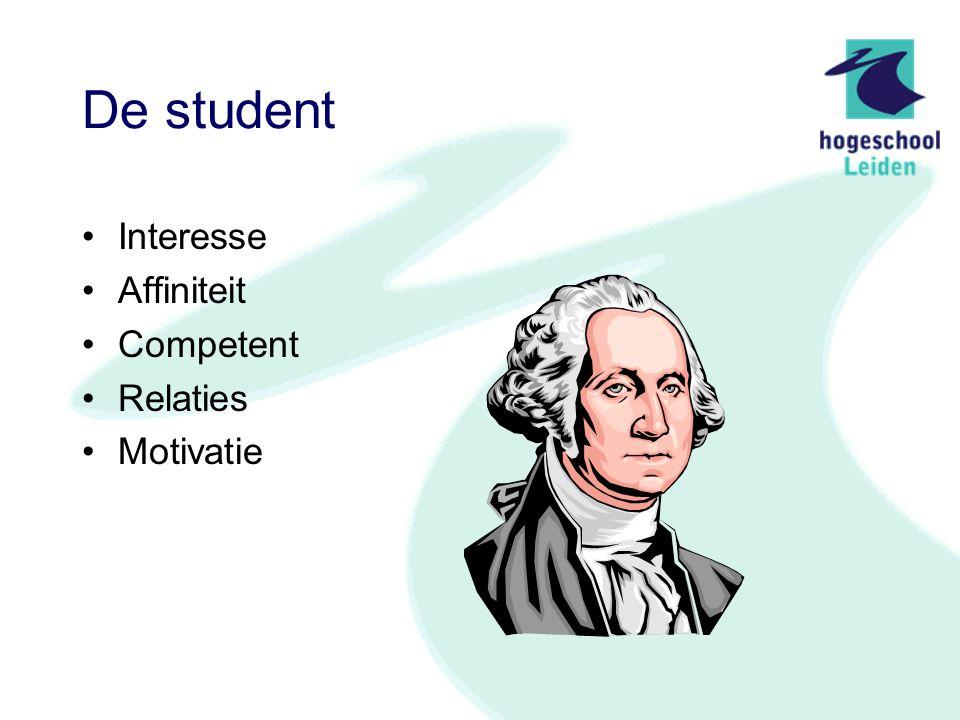 Het werkveld Biedt de echte situatie aan Geeft directe betekenis aan de inspanning van de student (Is de toekomstige werkplek)
