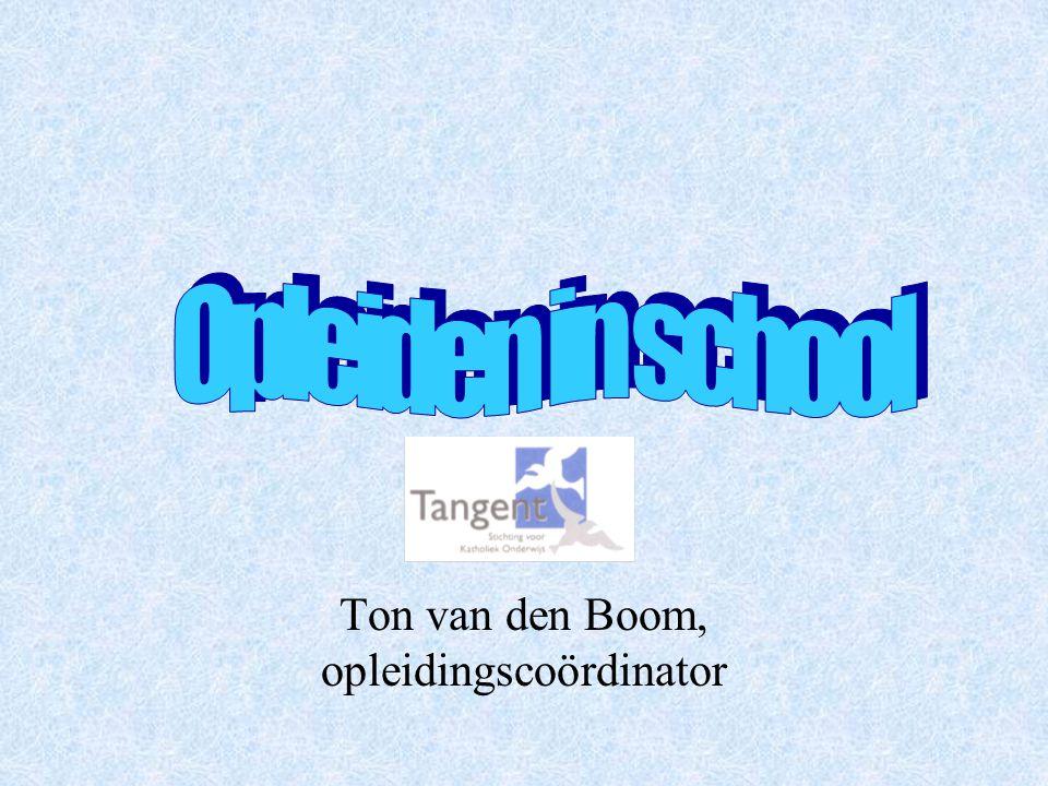 Ton van den Boom, opleidingscoördinator