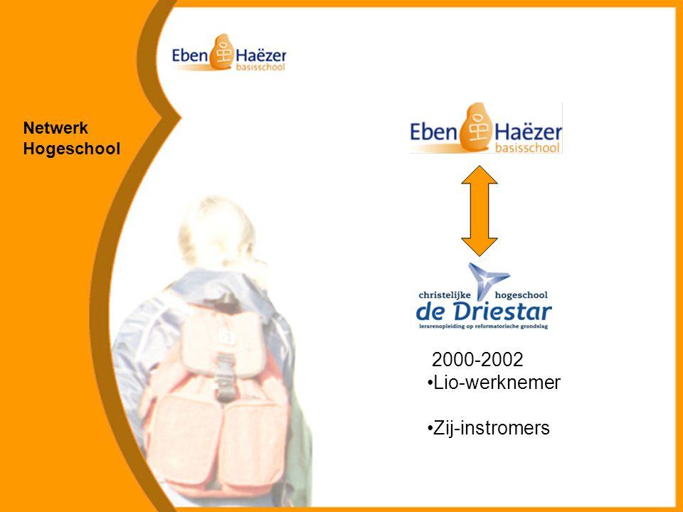 Netwerk Hogeschool 2000-2002 Lio-werknemer Zij-instromers