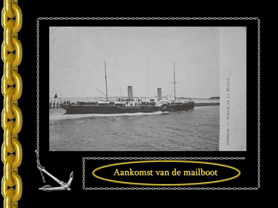 Aankomst van de mailboot -1899