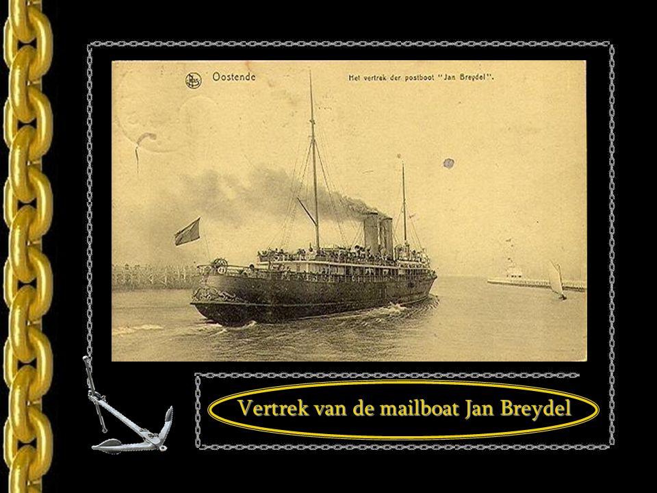 Mailboot, Oostende 1900