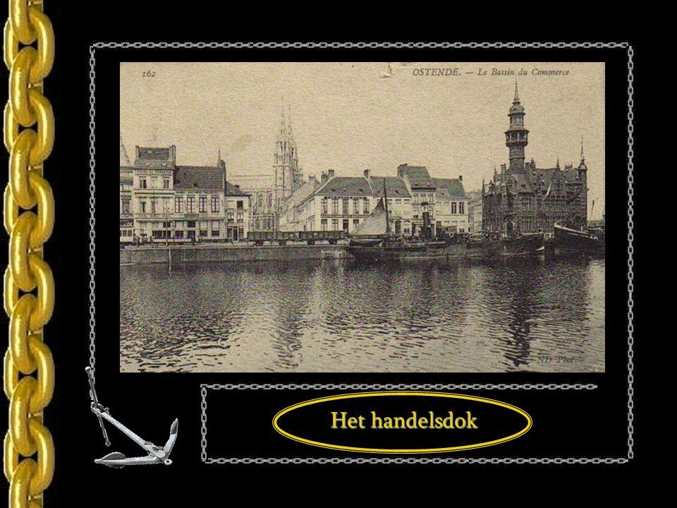 Vertrek van de mailboat Jan Breydel