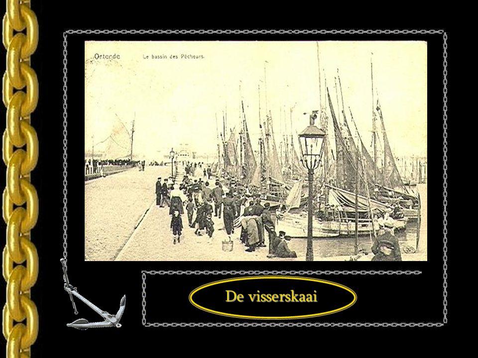 De oostendse visserskaai 1908