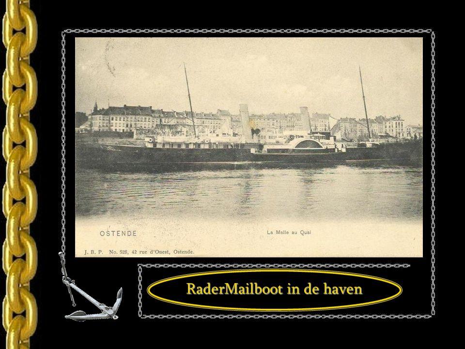 RaderMailboot in de haven