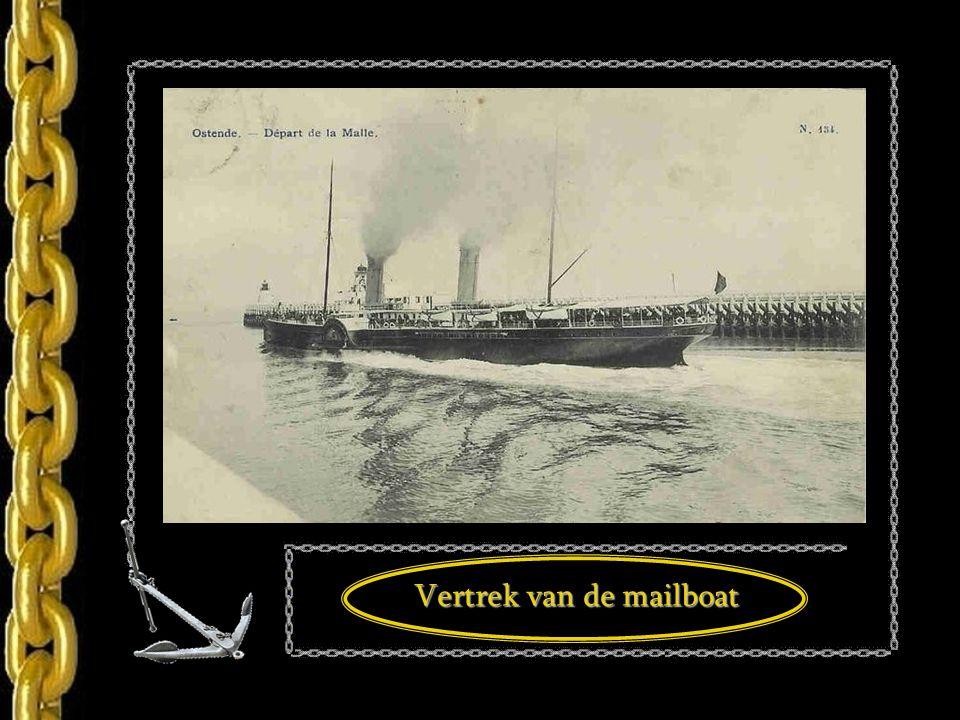 De mailboot Rapide ca. 1898