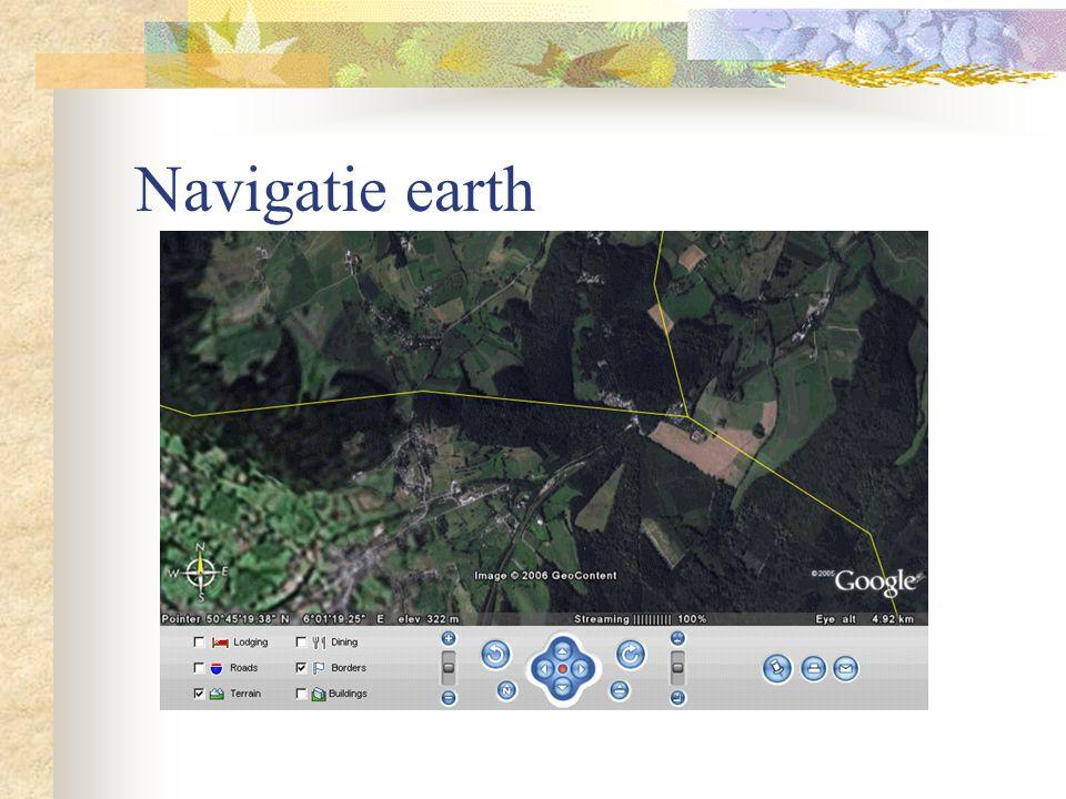 Navigatie earth
