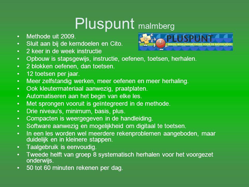Rekenrijk Noordhoff Methode uit 2009 Opbouw, iedereen krijgt instructie, verwerking is gedifferentieerd.