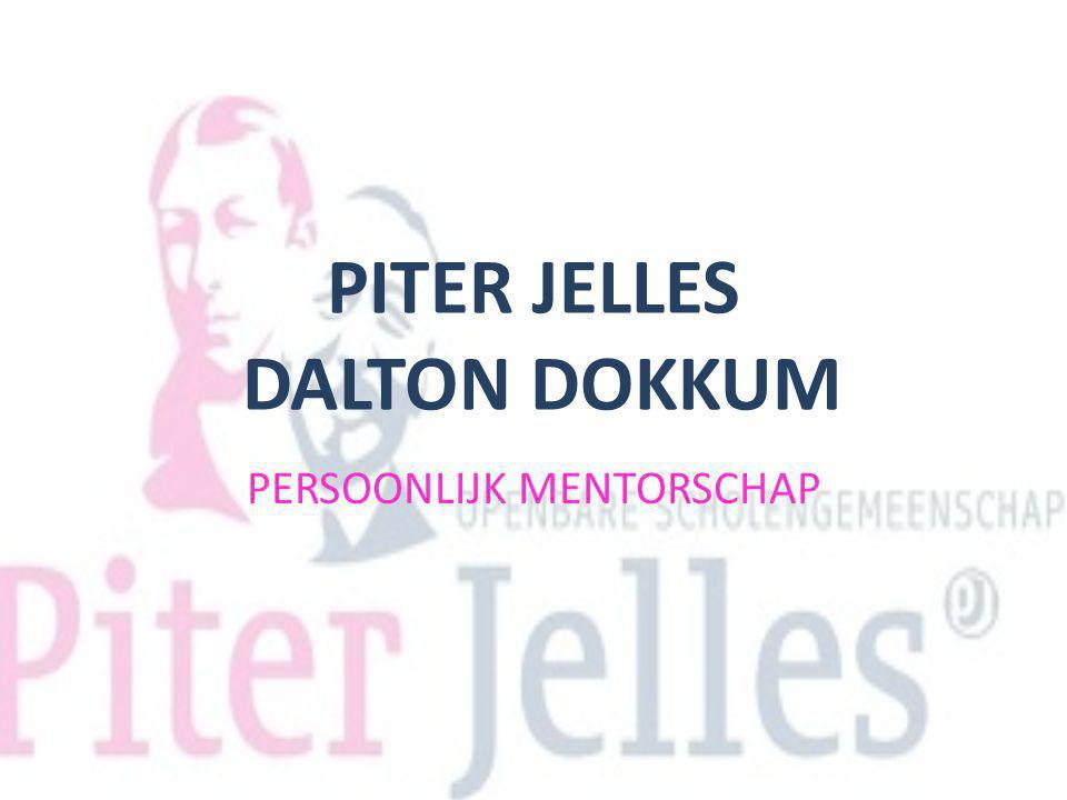 PITER JELLES DALTON DOKKUM PERSOONLIJK MENTORSCHAP