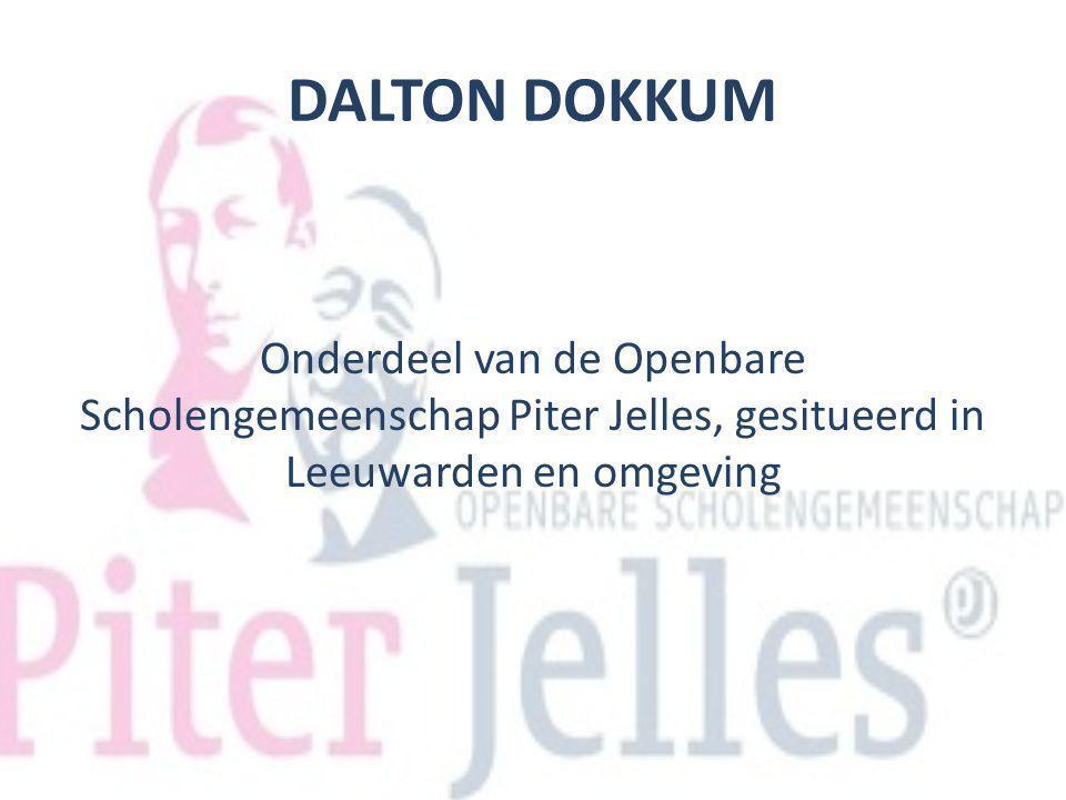 DALTON DOKKUM Onderdeel van de Openbare Scholengemeenschap Piter Jelles, gesitueerd in Leeuwarden en omgeving