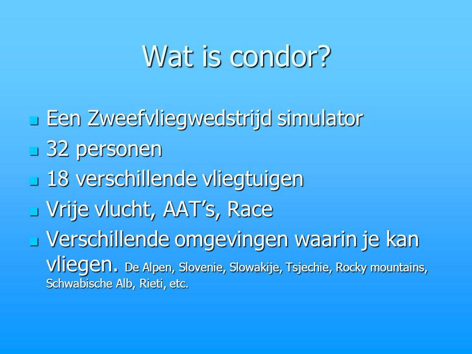 Wat is condor.