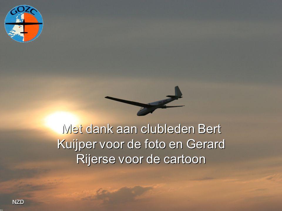 Met dank aan clubleden Bert Kuijper voor de foto en Gerard Rijerse voor de cartoon