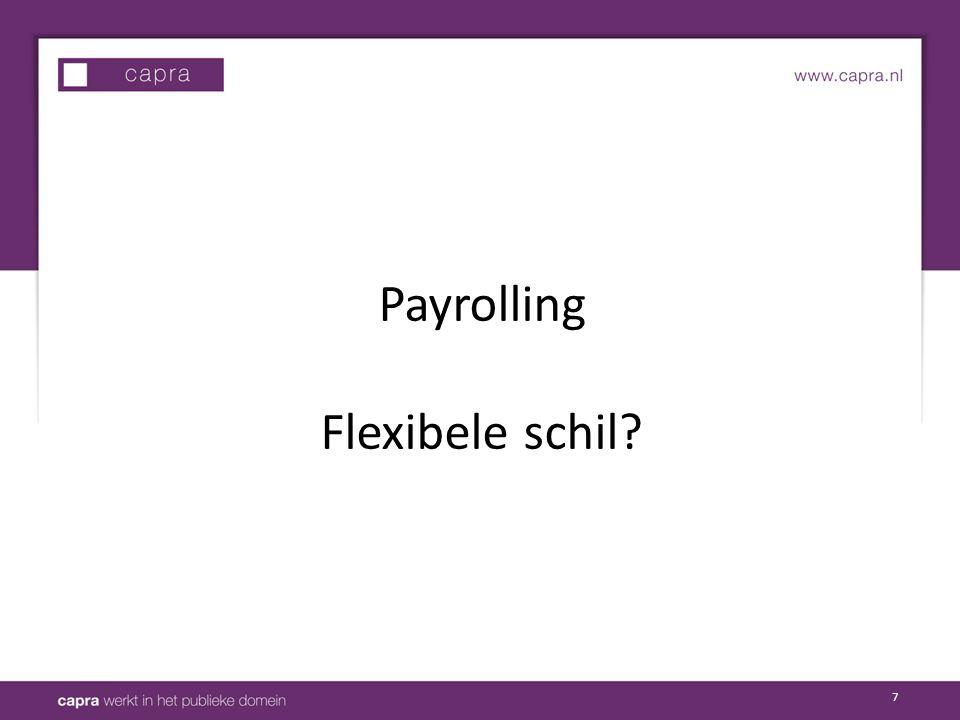 7 Payrolling Flexibele schil?