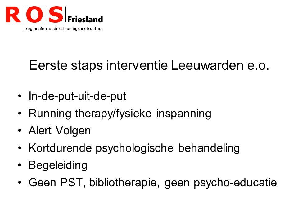 Eerste staps interventie Leeuwarden e.o.