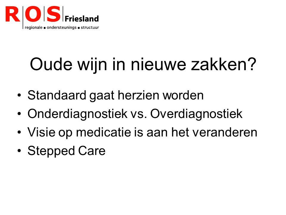 Doorbraakproject Depressie II 12/2006-3/2008 Meerdere teams (multidisciplinair) Meerdere thema s Team Friesland->diagnostiek en behandeling volwassenen Lokaal!