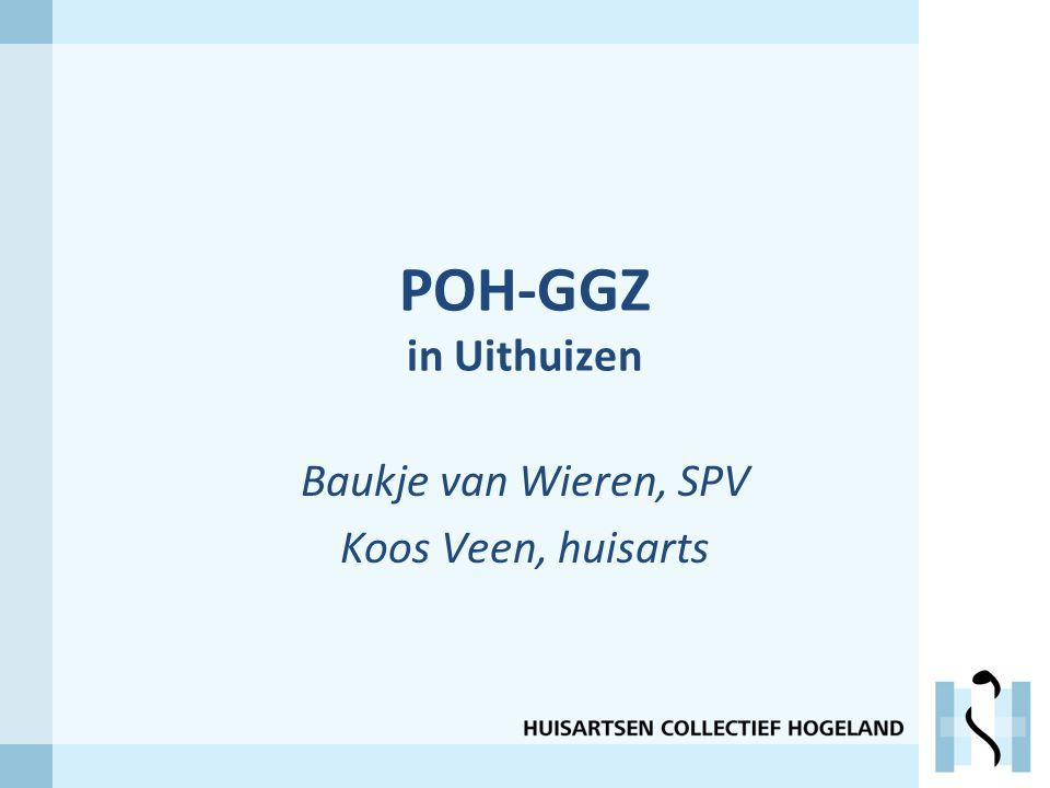POH-GGZ in Uithuizen Baukje van Wieren, SPV Koos Veen, huisarts