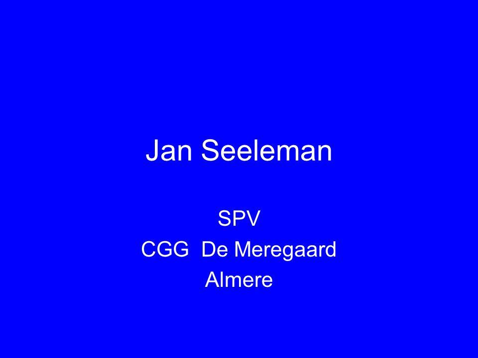 Jan Seeleman SPV CGG De Meregaard Almere