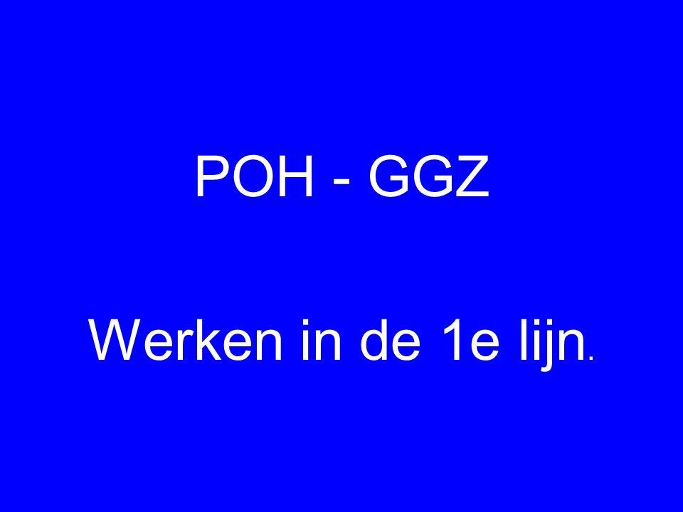 POH - GGZ Werken in de 1e lijn.