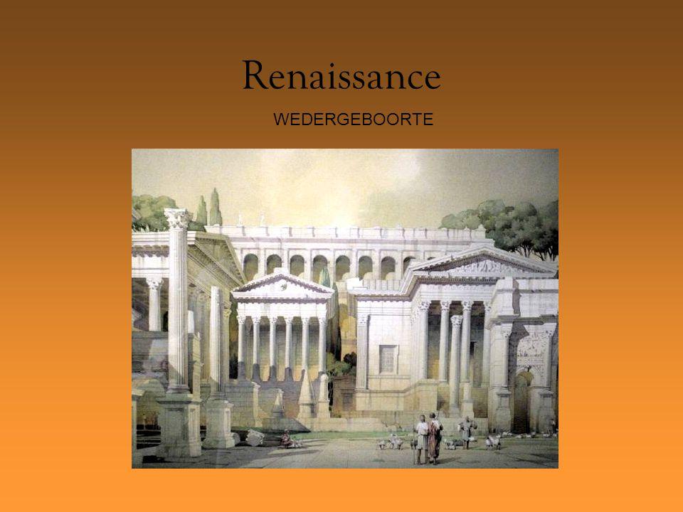 Renaissance WEDERGEBOORTE